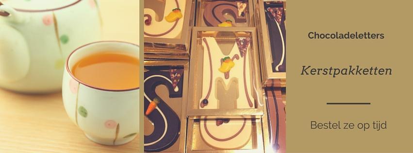 kerstpakketten relatiegeschenken Lente Thee en Chocolade